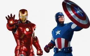 Картинка железный человек, Iron Man, комикс, Мстители, The Avengers, marvel, Tony Stark, comics, Captain America, Steve ...