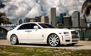 Картинка Rolls-Royce, 2010, Mansory, Limited, роллс-ройс, White Ghost