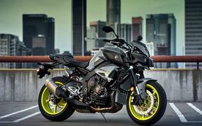 Картинка city, wallpaper, logo, Yamaha, motorcycle, superbike, building, rust, strong, motorbike, roof, pipe, comfortable, beauty on …