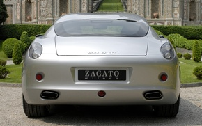 Картинка Maserati, серебристый, GS Zagato, '2007 20
