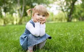 Обои деревья, счастье, дети, детство, стиль, парк, ребенок, красота, сад, милый, красивая, happy, fashion, мода, trees, ...