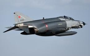 Картинка истребитель, многоцелевой, Phantom II, F-4E, «Фантом» II