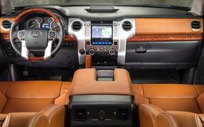 Картинка авто, салон, Toyota Tundra