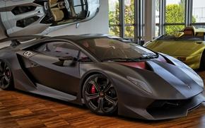 Обои Sesto Elemento, Lamborghini, carbon, supercar, Сант'Агата-Болоньезе, Музей Lamborgini