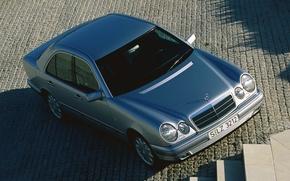 Картинка Mercedes-Benz, Mercedes, E-class, E-Klasse, 1995, E-класс, W210, Executivklasse, Лупатый, Глазастый