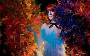 Картинка британская группа, инди-поп, арт-рок, барокко-поп, Florence and the Machine, певица Флоренс Уэлч, Инди-рок, Florence Leontine ...