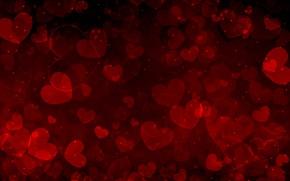 Обои valentine's day, сердечки, любовь