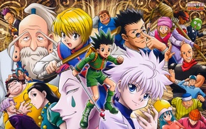 Картинка game, anime, assassin, asian, manga, japanese, oriental, asiatic, Anita, Hanzo, remake, Killua, Gon, Nicholas, Hunter …