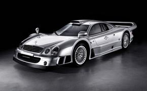 Обои 2005, mercedes-benz, clk, gtr, amg, rhd, coupe, road version