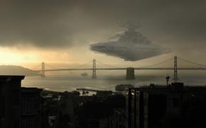 Картинка Star Wars, Сан-Франциско, Крейсер