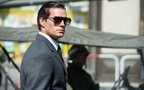 Обои Henry Cavill, Генри Кавилл, очки, Агенты А.Н.К.Л., костюм, The Man from U.N.C.L.E.