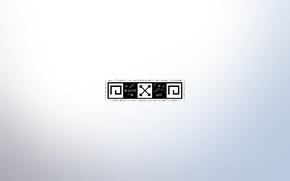 Картинка узор, минимализм, иероглифы