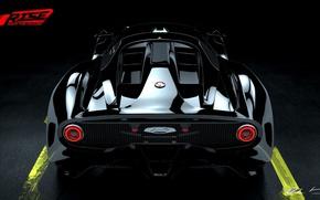 Картинка car, wallpaper, silver, sport, red, game, supercar, black, design, prototype, power, custom, speed, racing, sports, …