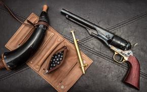 Картинка фон, ствол, револьвер, 1860