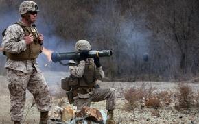Картинка оружие, солдаты, AT-4 light anti-armor weapon