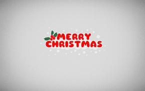 Картинка снег, новый год, merry christmas
