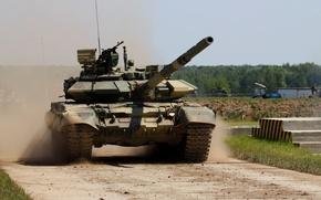 Обои Россия, Т-90 С, танк, военная техника