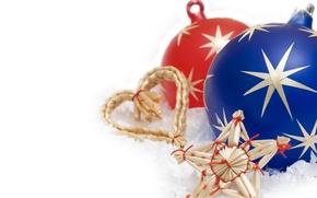 Обои рождество, новый год, украшения