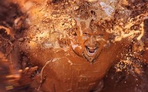 Картинка человек, ситуация, грязь