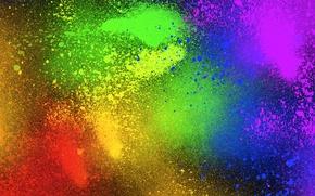 Картинка цвета, разноцветный, спрей