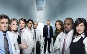 Картинка доктор хаус, house m.d., лиза кадди, уилсон, кэмерон, чейз, катнер, форман, грегори хаус, тауб, команда …
