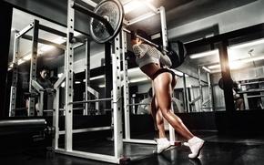 Обои legs, workout, gym, sportswear, fitness