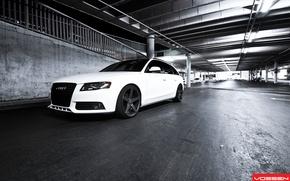 Картинка Audi, White, Vossen