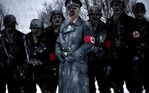 Обои немцы, zombie, операция мертвый снег, зомби