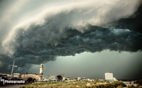 Картинка Wasser, Wolken, Blitz, Gewitter, Regen