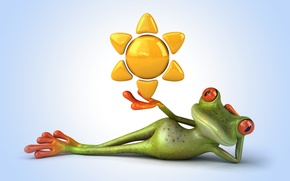 Картинка лягушка, frog, funny