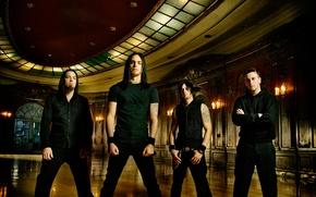 Обои Bullet for My Valentine, Matthew Tuck, Michael Padget, металкор, Jason James, Michael Thomas, группа