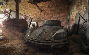 Картинка машина, лом, Citroën DS