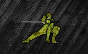 Картинка меч, ниндзя, ninjas, Metal Gear Solid, текструра