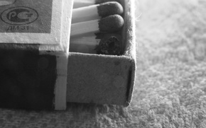 Обои спички, чёрно-белое, ковёр