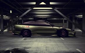 Картинка Тюнинг, Ниссан, Nissan, S13, Drift Spec Vector, by Edcgraphic, 200SX, Team ART