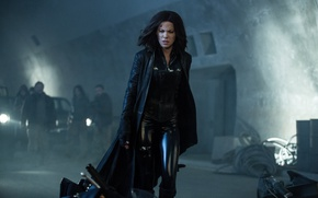 Обои car, cinema, Kate Beckinsale, wallpaper, fire, flame, girl, Underworld, blue eyes, movie, vampire, brunette, hero, ...