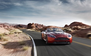 Картинка Aston Martin, Vantage, V12, 2015, S-Roadster