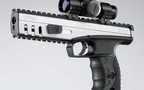 Обои пистолет, прицел, вальтер, Walther SP22 M3 Target Rimfire Pistol