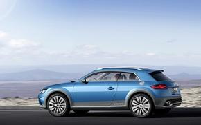 Картинка Car, Road, Shooting Brake Show, Audi Allroad Quattro