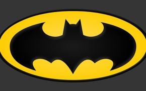 Картинка Batman, classic, symbol