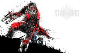 Картинка Peter Quill, Star-Lord, Guardians of the Galaxy, Звёздный Лорд