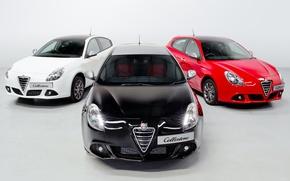 Картинка машины, обои, Alfa Romeo, альфа ромео, Collezione, Giulietta