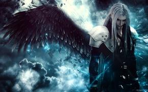 Обои SyanArt, Abstract, Square Enix, Video Game, Final Fantasy, Sephiroth