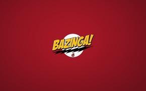 Картинка minimalism, The Big Bang Theory, Bazinga, Sheldon Cooper