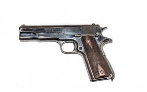 Картинка пистолет, оружие, M1911, Colt, самозарядный