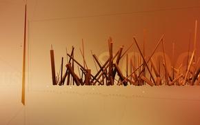 Обои палочки, линии, 2006