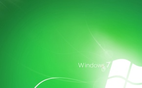 Обои линии, стиль, зелёный, computers, green style