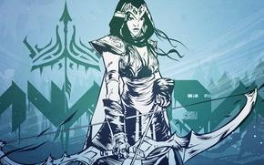 Картинка art, league of legends, ashe, archer