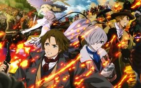 Картинка аниме, арт, империя мертвецов, Shisha no teikoku