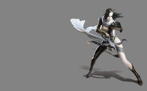 Картинка девушка, фентези, оружие, игра, арт, персонаж, арбалет
